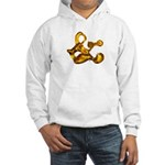 Blown Gold & Hooded Sweatshirt
