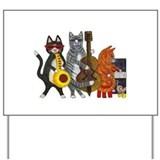 JazzCatsCut-out for Zazzle_FINAL.jpg Yard Sign