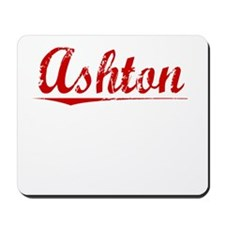 Ashton, Vintage Red Mousepad