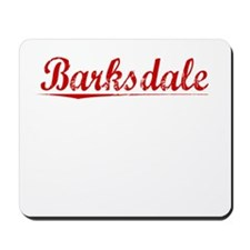 Barksdale, Vintage Red Mousepad