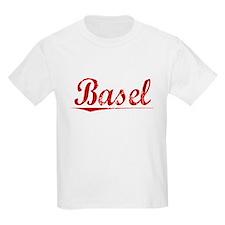 Basel, Vintage Red T-Shirt
