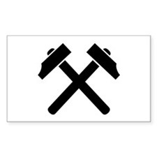Crossed hammer Decal