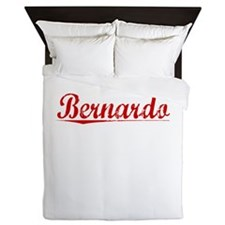 Bernardo, Vintage Red Queen Duvet
