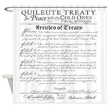 Twilight Treaty Shower Curtain