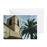 Old Village of Grimaud Greeting Cards (Package of