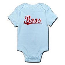 Boos, Vintage Red Infant Bodysuit