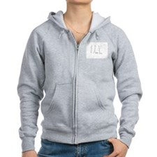 i love you 1 Zip Hoodie