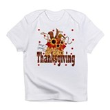 Cute Baby's first thanksgiving Infant T-Shirt