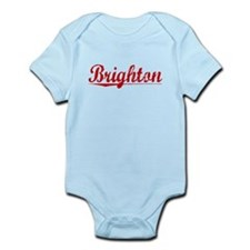 Brighton, Vintage Red Infant Bodysuit