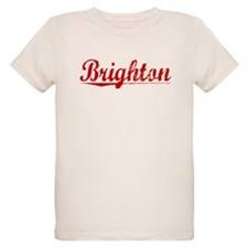 Brighton, Vintage Red T-Shirt