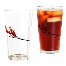 Flax Flower Drinking Glass