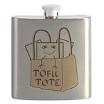 Funny Tofu Tote Flask