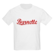 Burnette, Vintage Red T-Shirt