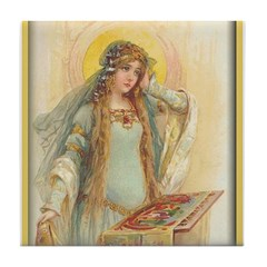 Lady of Shalott Tile