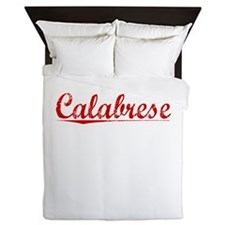Calabrese, Vintage Red Queen Duvet