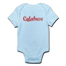 Calabrese, Vintage Red Infant Bodysuit