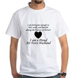 Fortunate Air Force Husband Shirt