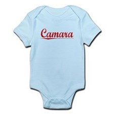 Camara, Vintage Red Infant Bodysuit