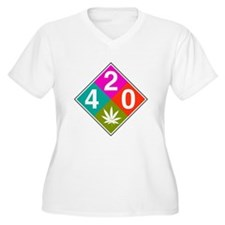 420 caution pink.png T-Shirt
