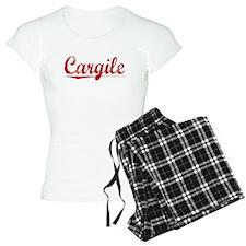 Cargile, Vintage Red Pajamas