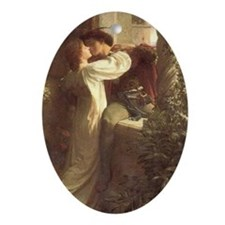Romeo and Juliet Keepsake (Oval)
