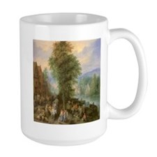 Peasants on Market Day Coffee Mug