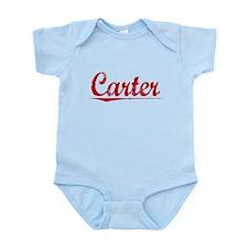 Carter, Vintage Red Infant Bodysuit