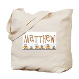 Matthew name & baby duckies Tote Bag