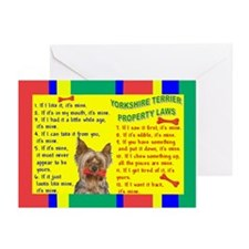 Cute Yorkshire sayings Greeting Cards (Pk of 10)