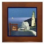 Fair Winds Cottage Framed Tile