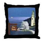 Fair Winds Cottage Throw Pillow