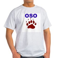 OSO Ash Grey T-Shirt