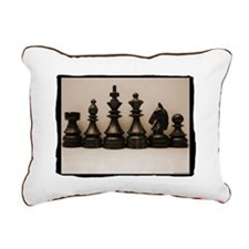 Chess Family Rectangular Canvas Pillow