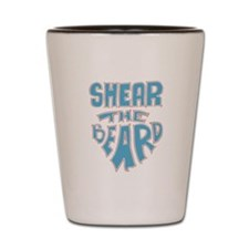 Shear the Beard Shot Glass