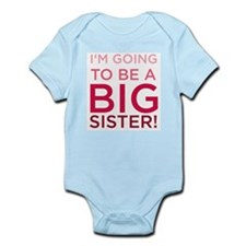 I'm Going To Be a Big Sister! Infant Creeper Body
