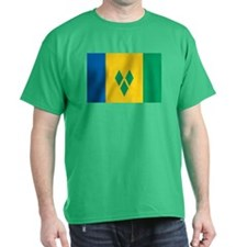 St Vincent Grenadines Flag T-Shirt
