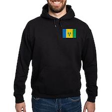 St Vincent Grenadines Flag Hoodie