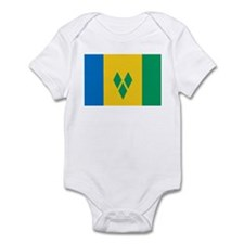St Vincent Grenadines Flag Infant Bodysuit