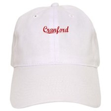 Cranford, Vintage Red Baseball Cap