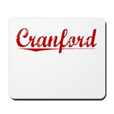 Cranford, Vintage Red Mousepad