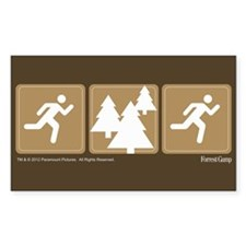 Run Forrest Run Decal