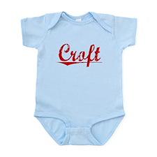 Croft, Vintage Red Infant Bodysuit