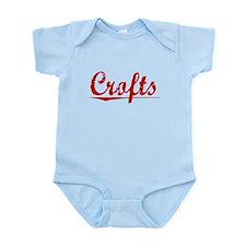Crofts, Vintage Red Infant Bodysuit