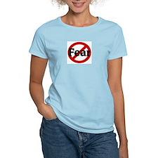 Anti Fear Women's Pink T-Shirt