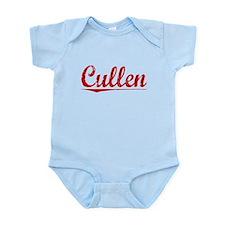 Cullen, Vintage Red Infant Bodysuit