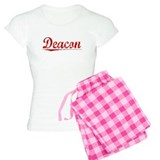 Deacon, Vintage Red pajamas