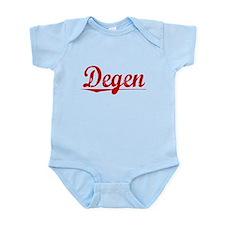 Degen, Vintage Red Infant Bodysuit