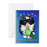 A Tuxedo Merry Christmas Greeting Cards (Pk of 10)