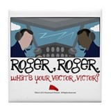 Roger Roger Tile Coaster