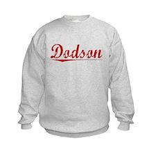 Dodson, Vintage Red Sweatshirt